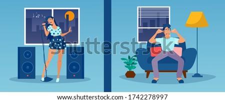 vector of a noisy neighbor