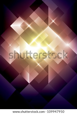 vector of abstract jewelry background