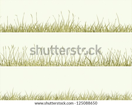 vector of banners abstract