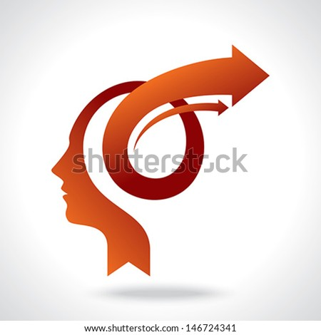 vector of business mind with