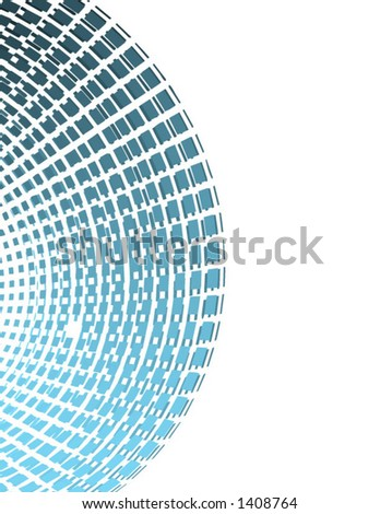 Vector of circular abstract grid