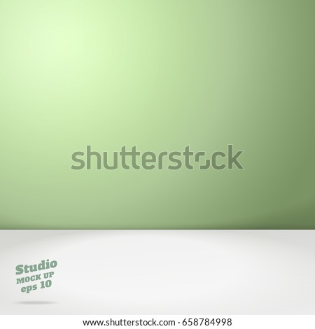 vector of empty pastel green