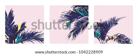 vector of exotic pastel