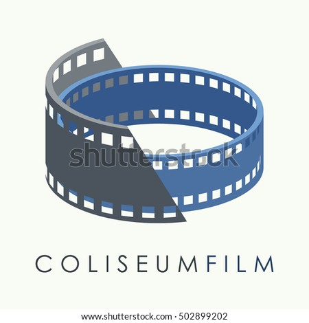 vector of film strip symbol or