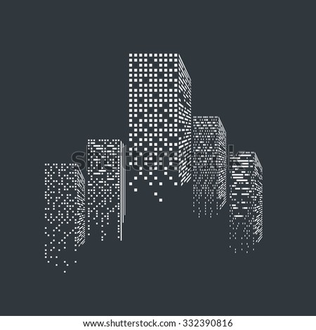 vector of graphical urban