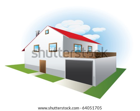 Vector of house