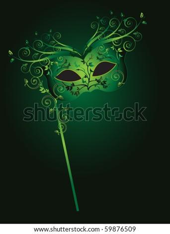 vector of illustration mask