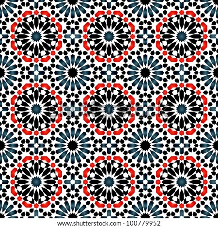Vector of Islamic pattern