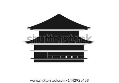 vector of kinkakuji temple of