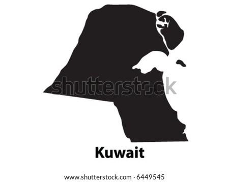 Vector of Kuwait