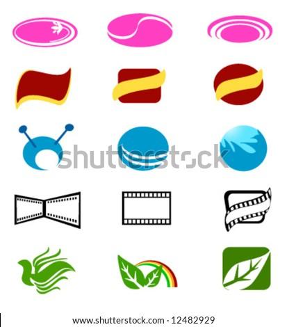 Vector Design Elements Vector of Logo Design Element