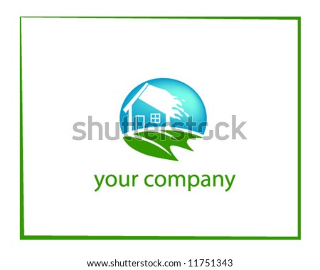 vector of logo for your company | house or real estate or agent company