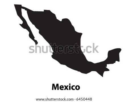 Vector of Mexico