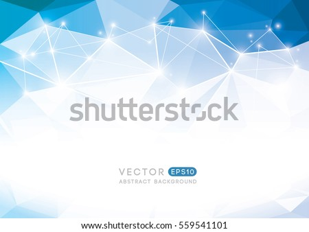 Vector of modern abstract polygonal background