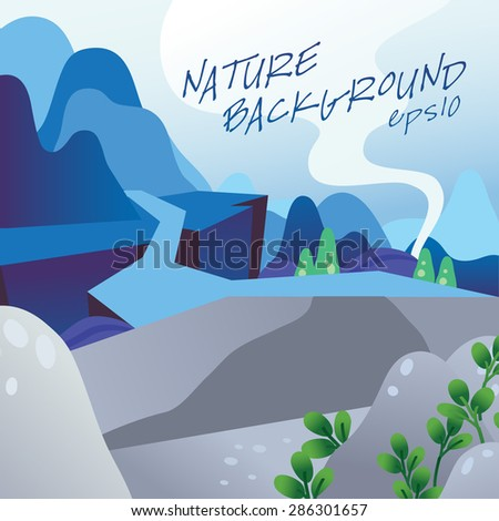 vector of nature background