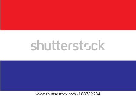 vector of netherlands flag