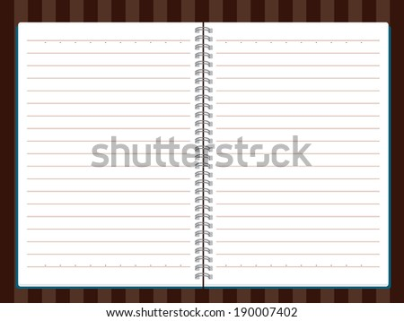 stock-vector-vector-of-note-book