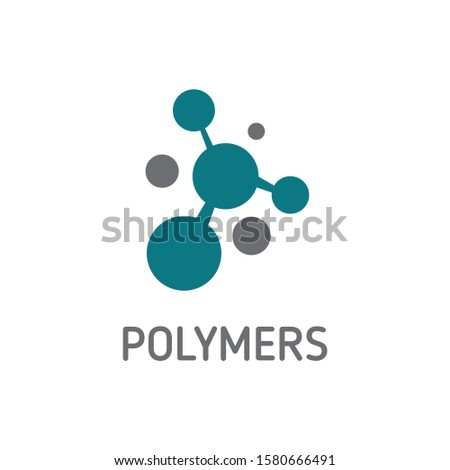 vector of Polymer logo concept design eps format Foto stock ©