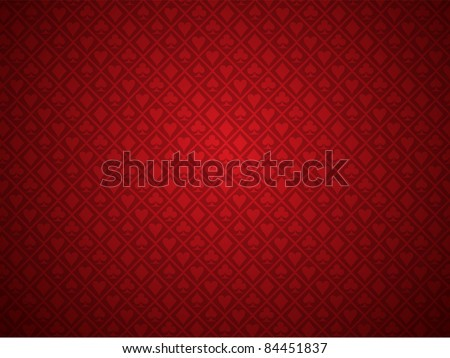 Vector of red poker background