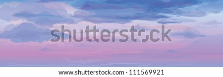 vector of sky background