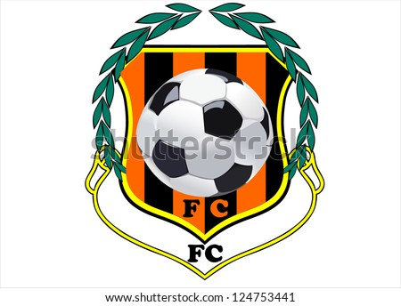 vector of soccer emblem