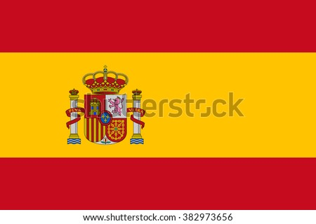 vector of spanish flag