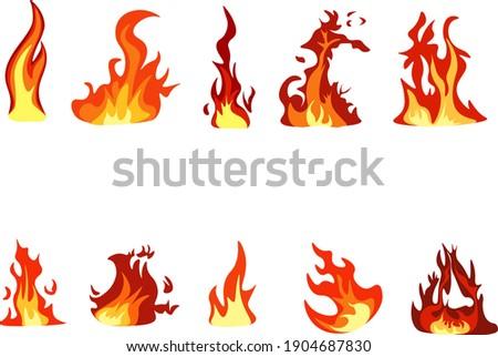 Vector Of The Fires Bundle - Fire Clipart Bundle