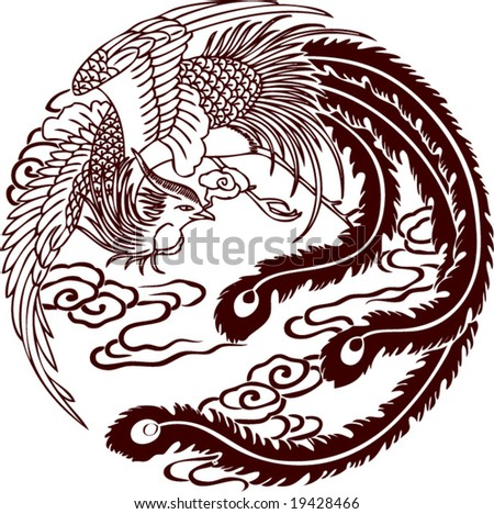 vector of traditional chinese