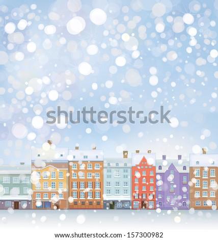 vector of winter wonderland