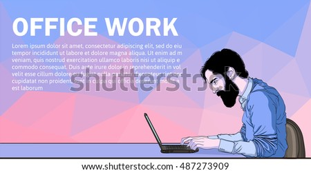 vector of workplace and dev
