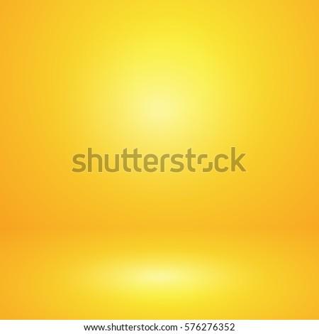 vector of yellow empty studio