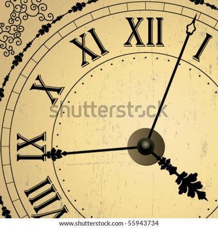 Vector old clock