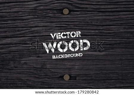 vector old dry black wood
