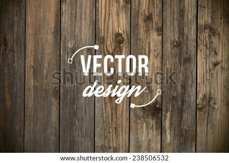 vector old grunge wood