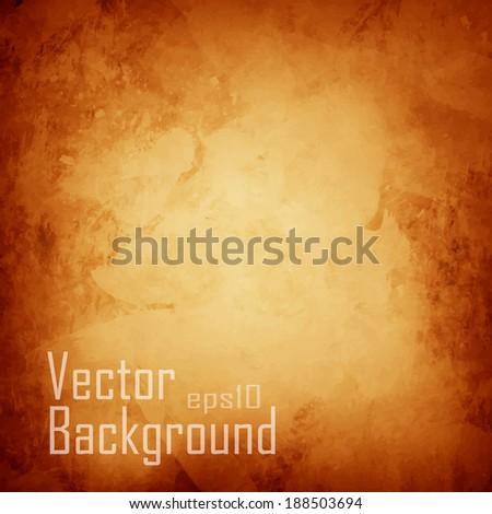 vector orange abstract