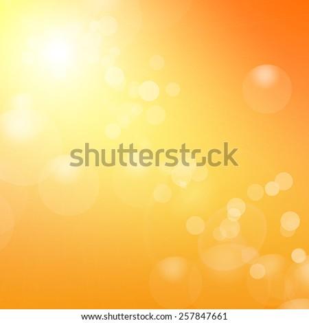 stock-vector-vector-orange-background-with-sun