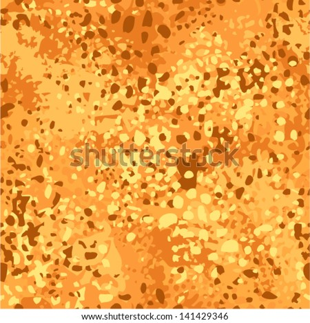 vector orange camouflage pattern (disguise seamless)