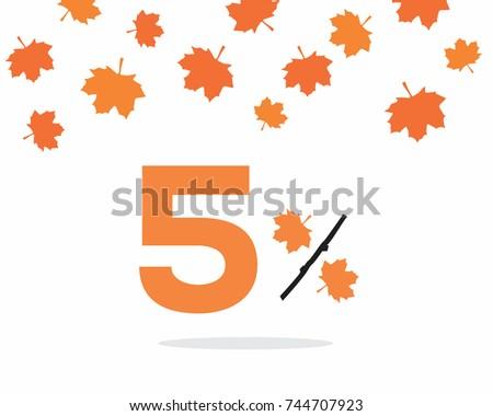 vector orange 5  text designed