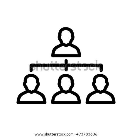 Vector Organization icon Stock photo ©