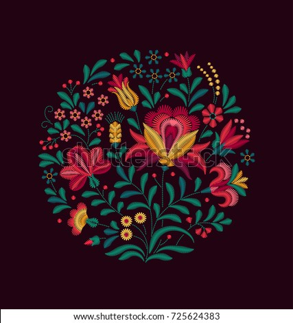 vector oriental motif of...
