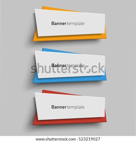 Banner Vektorgrafiken - Kostenlose Vektor-Kunst, Archiv-Grafiken ...