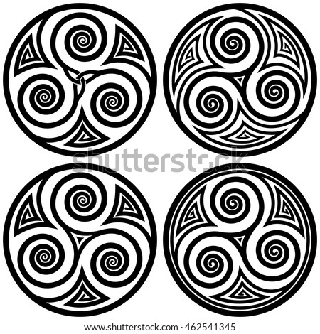 vector ornament  set of