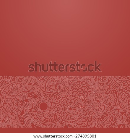 vector ornate background with