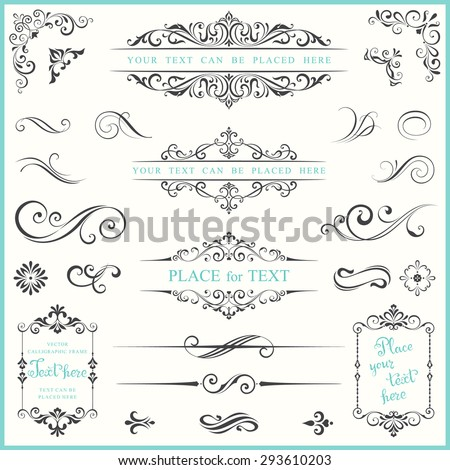 stock-vector-vector-ornate-frames-and-scroll-elements