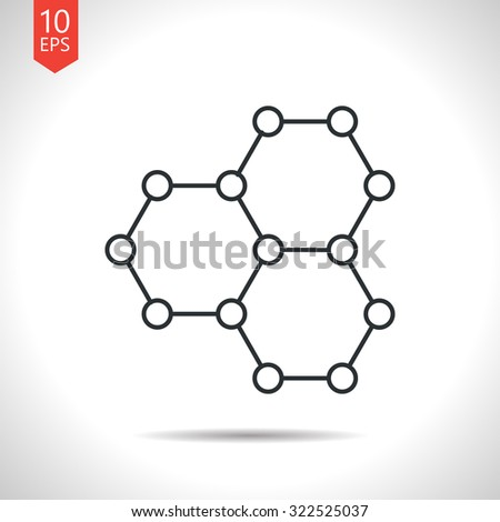 vector outline classic grey