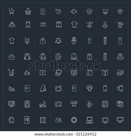 vector outline icon for