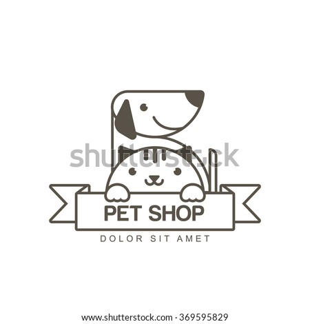 vector outline illustration of
