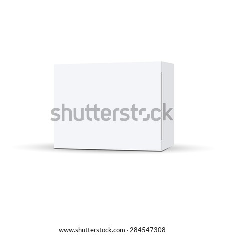 Vector packaging on a white background. Can be used in medicine for tablets, food