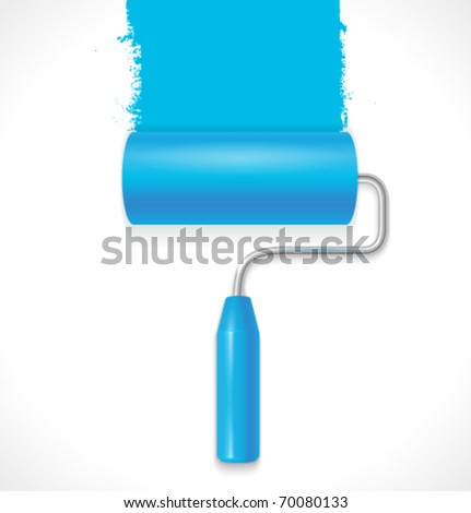Vector paint roller