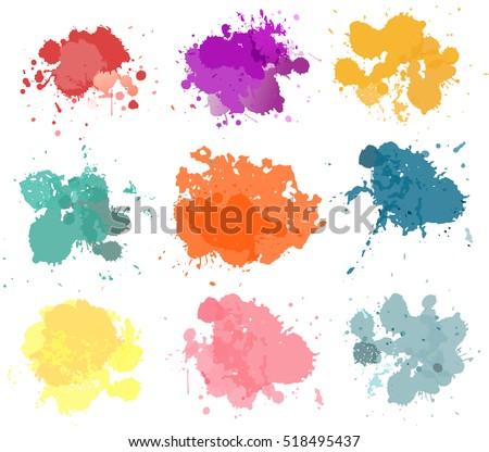 vector paint splash